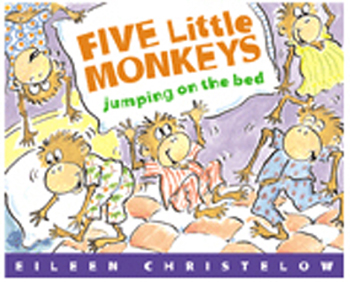Houghton Mifflin FIVE LITTLE MONKEYS JUMPING at Sears.com
