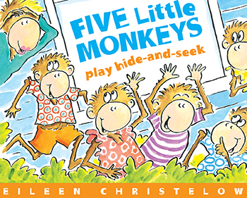 Houghton Mifflin FIVE LITTLE MONKEYS PLAY HIDE AND at Sears.com